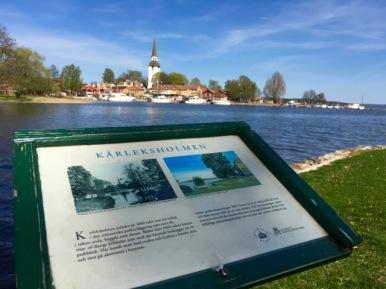 Mariefred, sett från Kärleksholmen